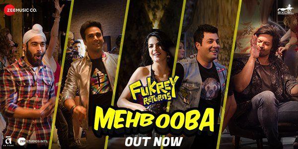Mehbooba Official Video Song - FukreyReturns | Pulkit Samrat, Varun Sharma, Manjot Singh, Ali Fazal, Richa Chadha | Voice of Neha Kakkar & Yasser Desai | Movie Releasing on 15th December 2017. #Mehbooba #PulkitSamrat #VarunSharma #AliFazal #ManjotSingh #RichaChadha #NehaKakkar #YasserDesai #MrighdeepSinghLamba #ExcelEntertainment #ZeeStudios #ZeeMusicCompany