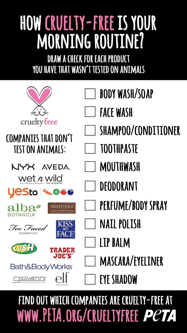 We made a simple cruelty-free checklist to take the guesswork out of your morning routine. #crueltyfreemakeup #crueltyfreecosmetics