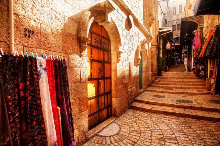 Las 10 #calles más famosas del mundo  #VíaDolorosa, #Jerusalén.