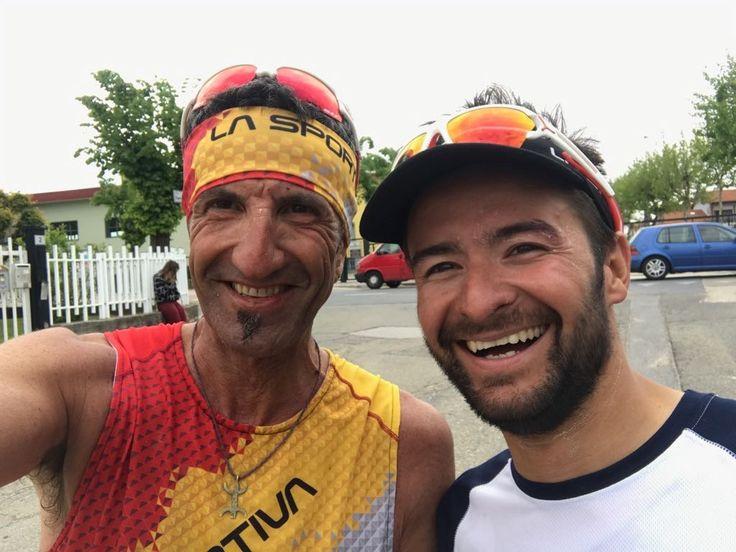 Basso e Ferrero. Team Marguareis al Trail delle Rocche