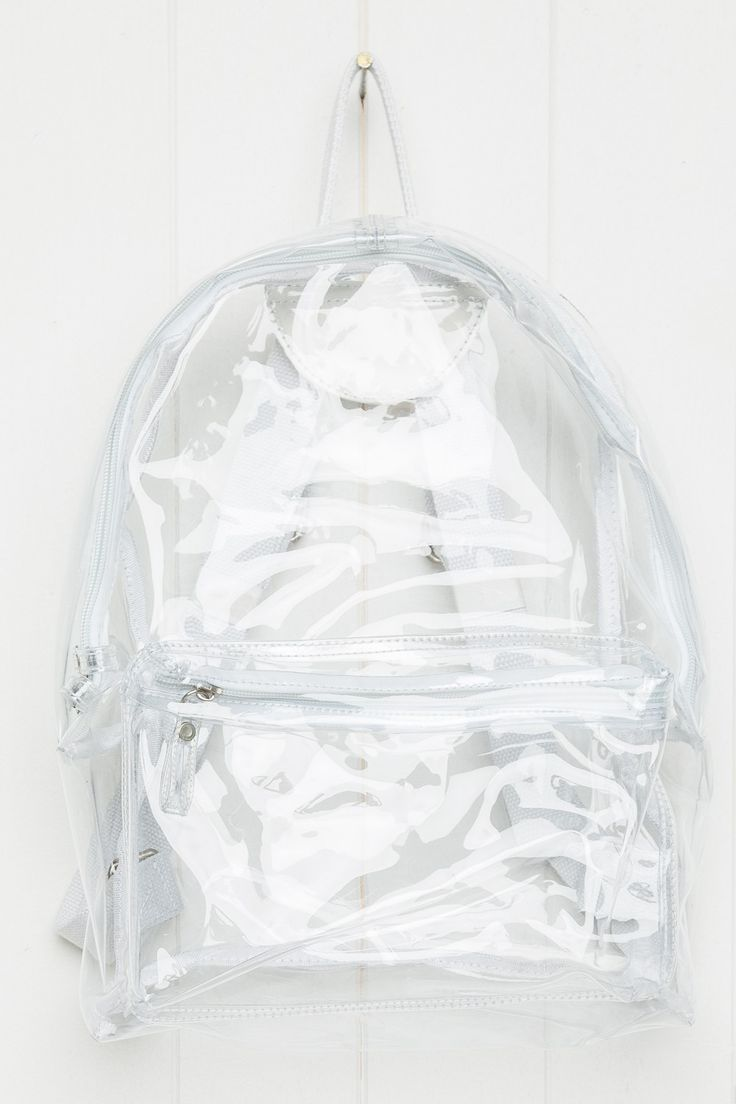 Brandy ♥ Melville   Clear Backpack - Bags - Accessories ...