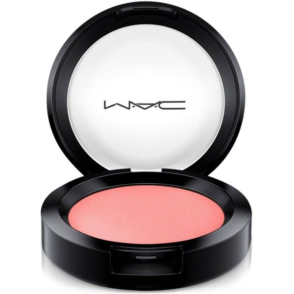 Mac Flamingo Park Powder Blush found on Polyvore featuring beauty products, makeup, cheek makeup, blush, what i fancy, powder blush and mac cosmetics