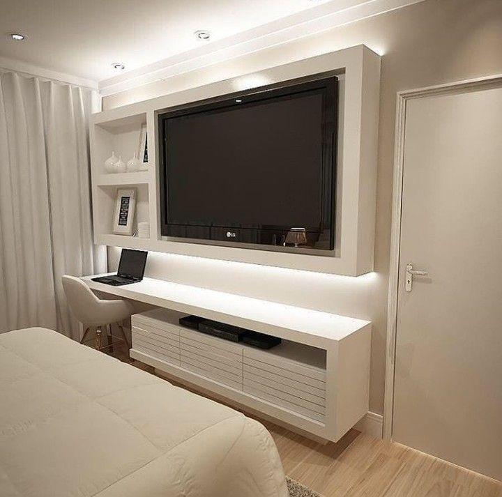 14 Dormitorios modernos con tv