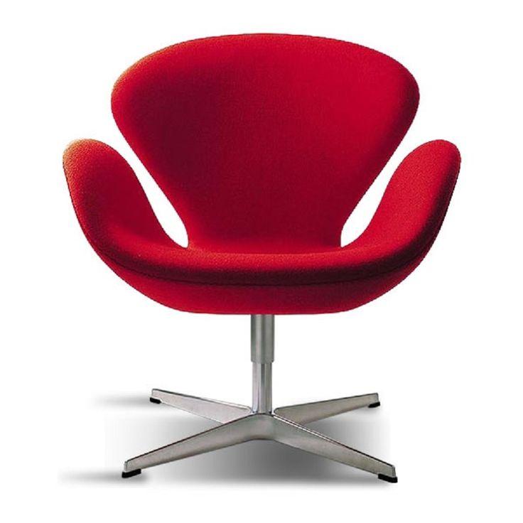 Um dos clássicos do design moderno, a poltrona Swan é criação de Arne Jacobsen, designer dinamarquês que marcou seu território com peças atemporais. Sua base é giratória e ela tem o conforto necessário para o escritório, sala ou quarto, adicionando contemporaneidade ao ambiente!