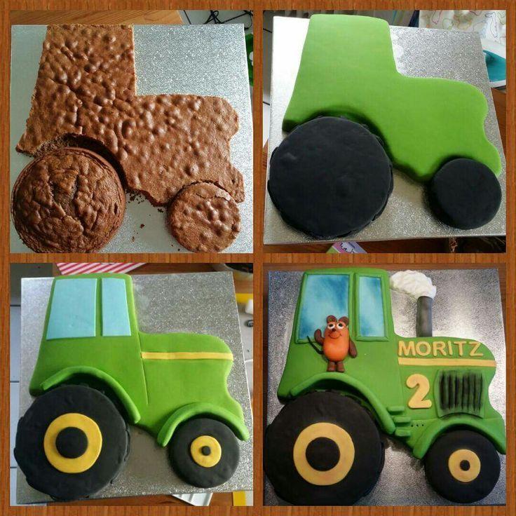 Traktor Mit Der Maus Der Maus Mit Traktor Cake In 2019 Kindergeburtstag Ideen Kuchen Kindergeburtstag Und Traktor Kuchen