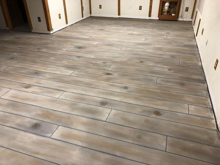 Custom Concrete Wood Flooring in Arlington, Virginia