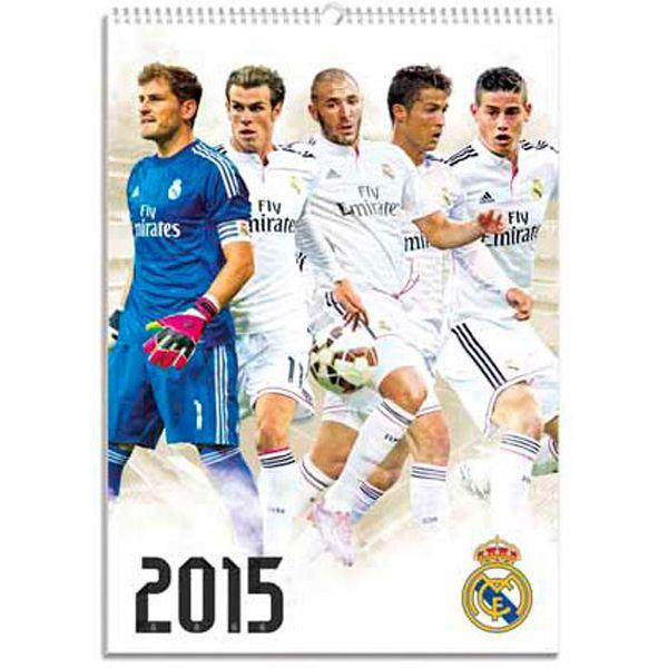 SoccerGaga.com - Real Madrid 2015 Calendar, $22.99 (http://www.soccergaga.com/real-madrid-2015-calendar/)