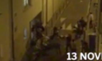 Video Shows Concertgoers Escaping Paris Terror Attack