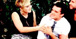 When Jennifer (and Liam) threw Josh around like a rag doll and he loved it: