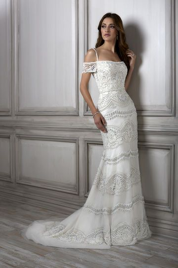 111 best Adrianna Papell Platinum Wedding Dress images on Pinterest ...