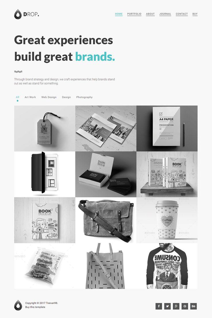 9 best Responsive Website Templates images on Pinterest | Design ...