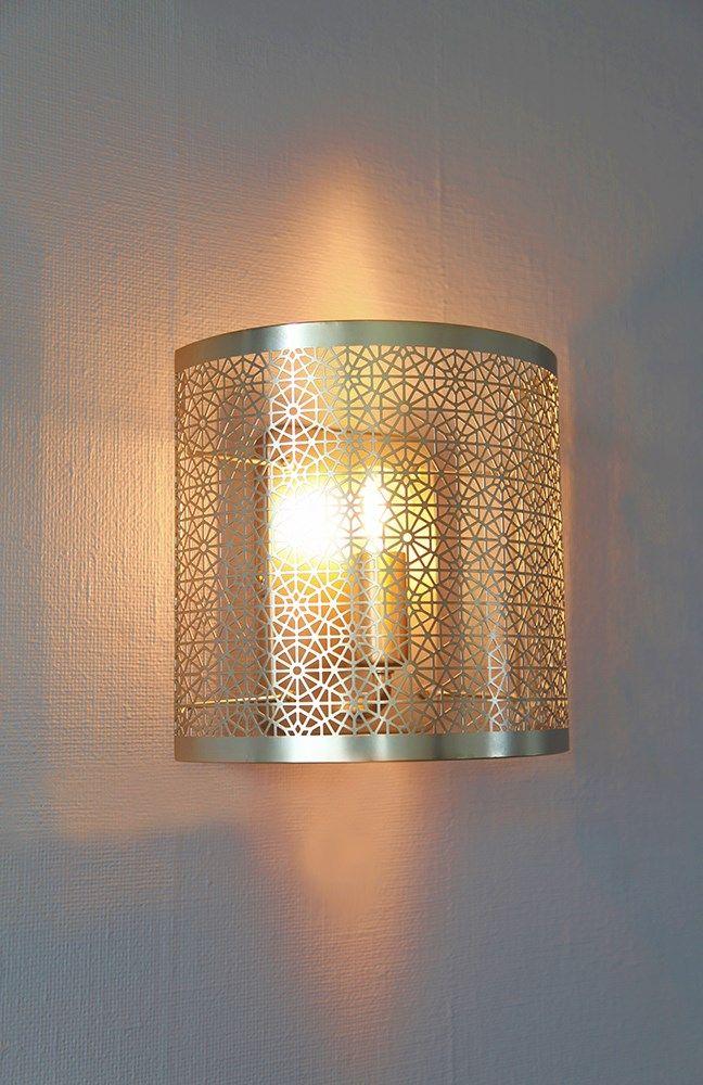 Matt brass wall lamp Hermine by Sessak