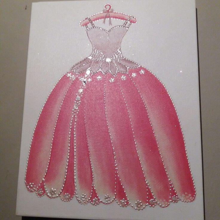 Princess canvas art by errikos art design