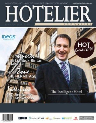 Hotelier Indonesia Edition 23 digital magazine - Read the digital edition by Magzter on your iPad, iPhone, Android, Tablet Devices, Windows 8, PC, Mac and the Web.