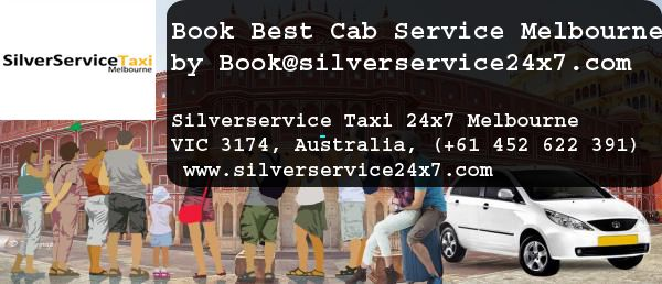 Do Want to Book #Best #Cab #Service In #Melbourne ? If yes then make rides with  Silverservice24x7 Taxi Melbourne. Book cabs by Book@silverservice24x7.com