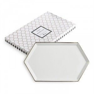Luxe Moderne Hexagonal Tray