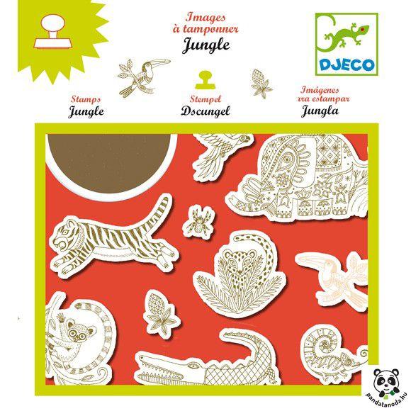 Dzsungel nyomda Djeco Jungle | Pandatanoda.hu Játék webáruház