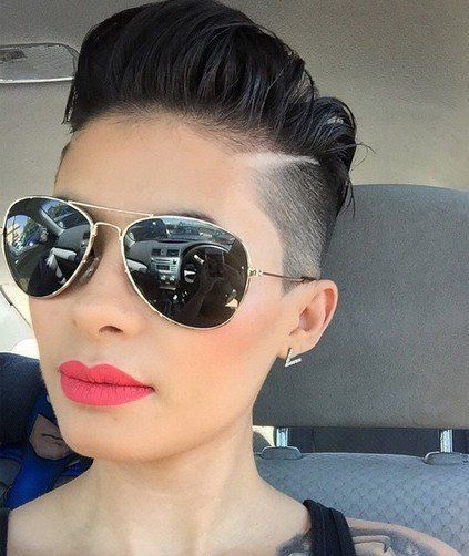 Tremendous 1000 Ideas About Shaved Pixie Cut On Pinterest Shaved Pixie Short Hairstyles For Black Women Fulllsitofus