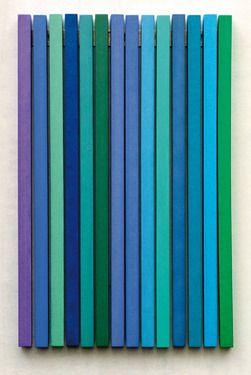 """Saatchi Online Artist Thomas Kausel; Installation, """"14 Blue"""" #art"""
