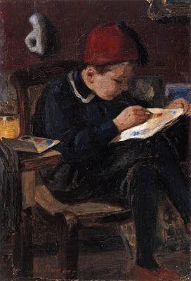 Ο μικρός ζωγράφος- Νικηφόρος Λύτρας (1832-1904)