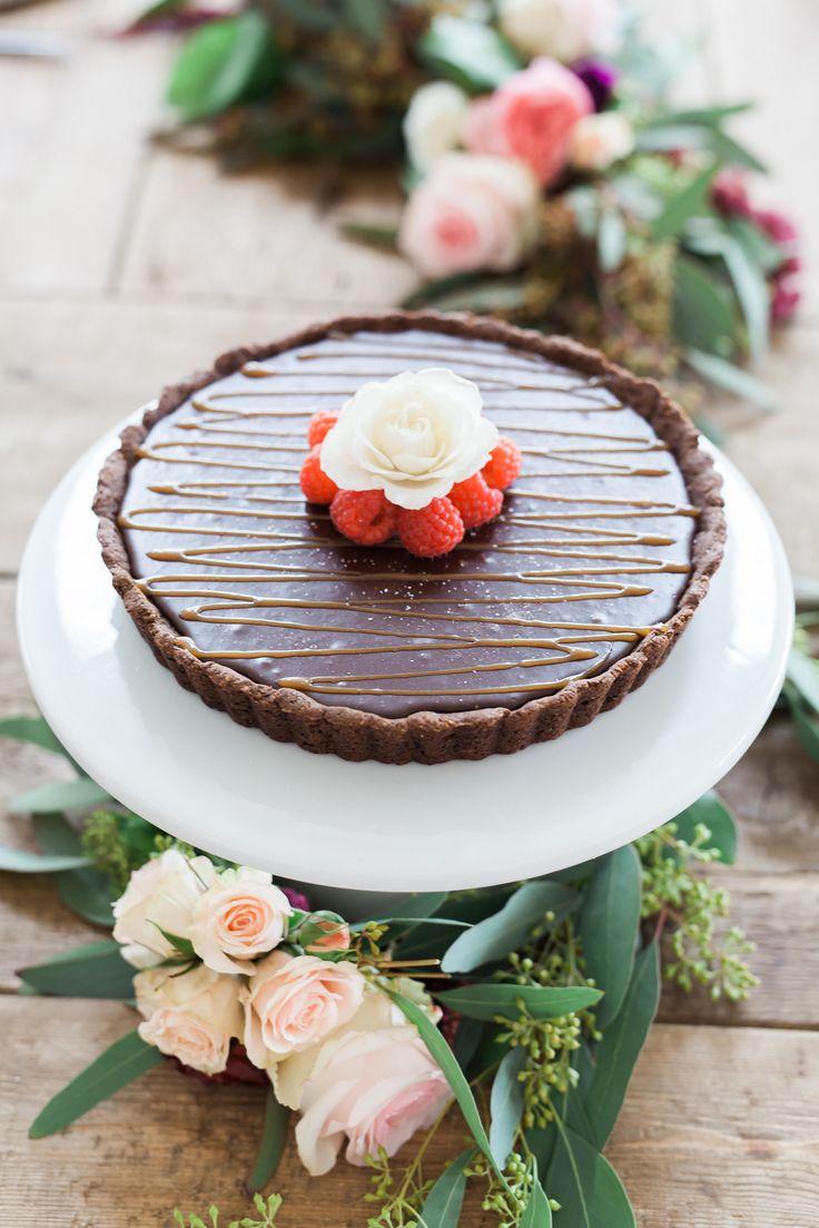 Chocolate Coconut Cream Tart | Jessi's Kitchen