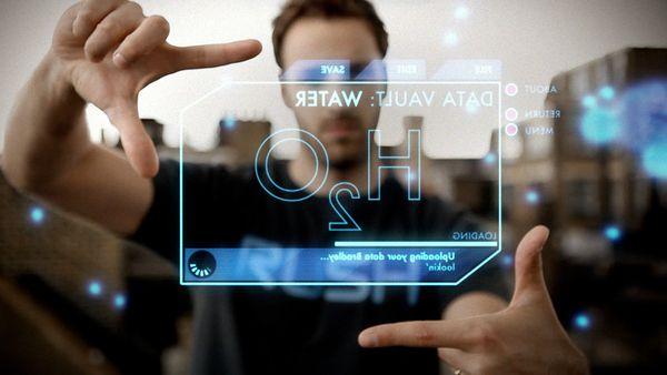Holographic 3D Interface 02 http://www.behance.net/gallery/HUD-test-%28holographic-3D-interface%29/2233516