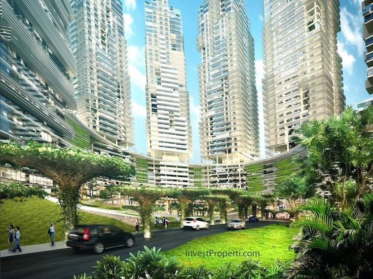 K2 Park Gading Serpong Apartment - Water Pods