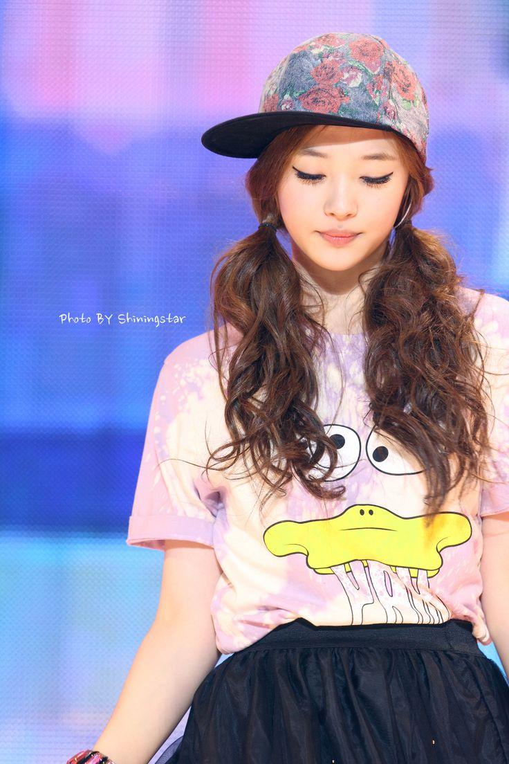 Name: Jinri Choi Stagename: Sulli Member of: F(x) Birthdate: 29.03.1994