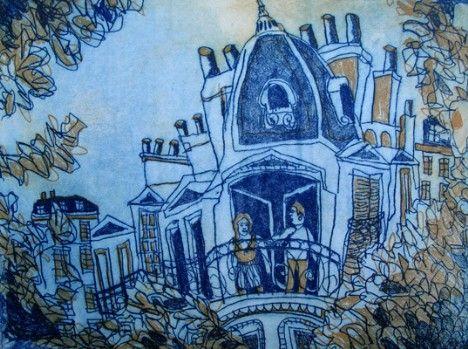 Bernard Ollis - Rue Danton - Falls Gallery