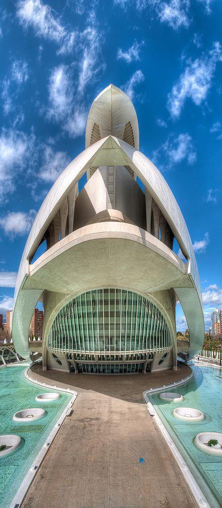 Ciutat de les Arts i les Ciències Santiago, Valência, Espanha