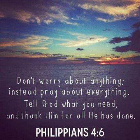 Phillipians 4:6  LOVE this verse! ❤