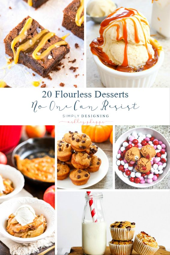 20 Flourless Desserts No One Can Resist | Simply Designing