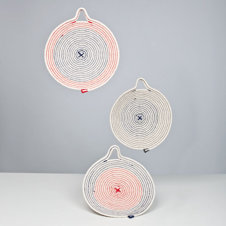 trivets designed Tomoe Matsuoka ~ at Doug Johnston