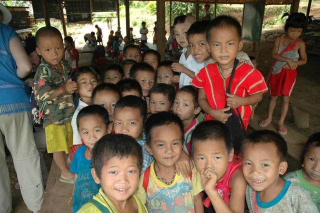 Karen People from Burma