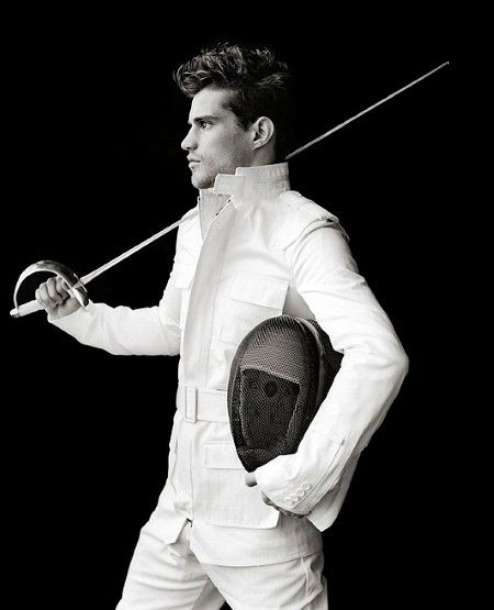 Fencing as fashion... love this. Find Inspirations at Monica Hahn Photography