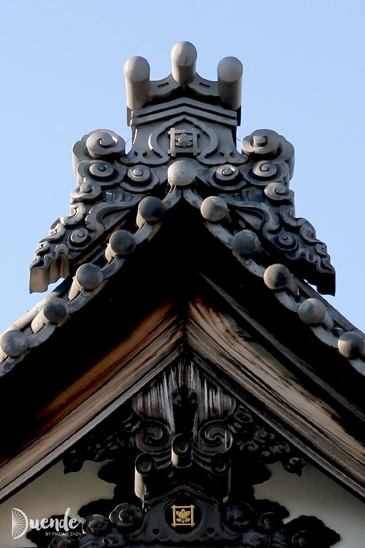 Decoding Japanese Roof Tiles | Duende by Madam ZoZo