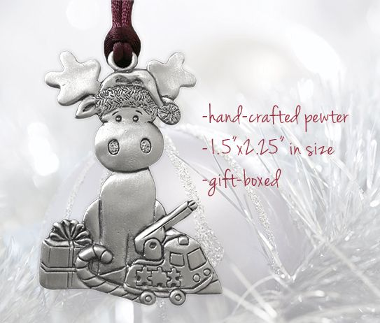 The 2016 Holiday Ornament is here! Get your mittens on this year's amoozing Seagull Pewter design while you can, and support the over 50,000 Canadians living with neuromuscular disorders >> muscle.ca/ornaments #MDCmoose