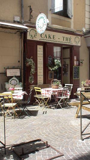 Ravissant salon de thé Millau