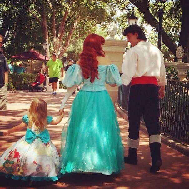 Best Kids Images On Pinterest Children Kids And Beautiful - Mom creates the most adorable costumes for her daughter to wear at disney world