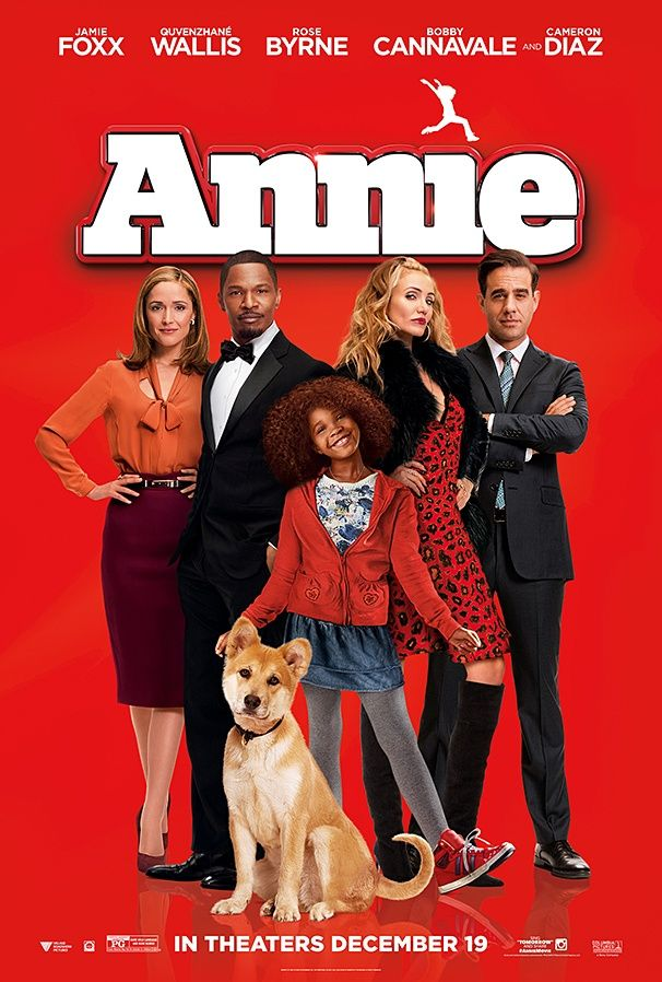 Annie 6/10 - not the classic that the original was by any means, but the kids loved it.