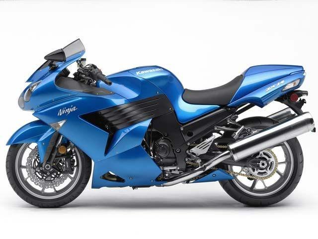 2007 Kawasaki Zx 14 Blue Static #blueiscool