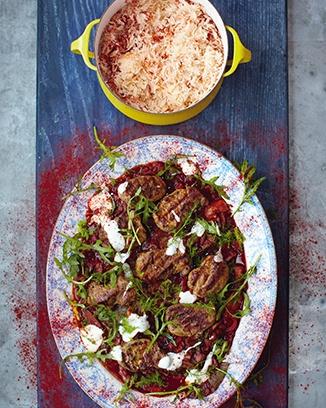 pork steaks hungarian pepper sauce rice jamie oliver food recipes uk foods of my. Black Bedroom Furniture Sets. Home Design Ideas