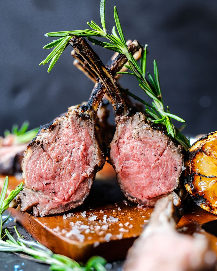 This Reverse-Seared Rack of Lamb is an easy way to fool your friends into thinking you're a gourmet chef. A super simple process with perfect results.