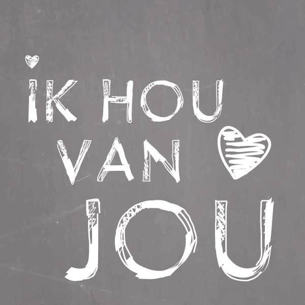 Ik hou van jou #liefde
