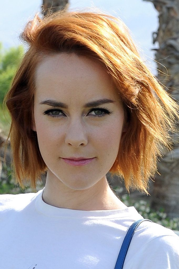 Jena Malone is proof of how fun a short hairstyle can look. / Celebrity Beauty Inspiration From Coachella 2015