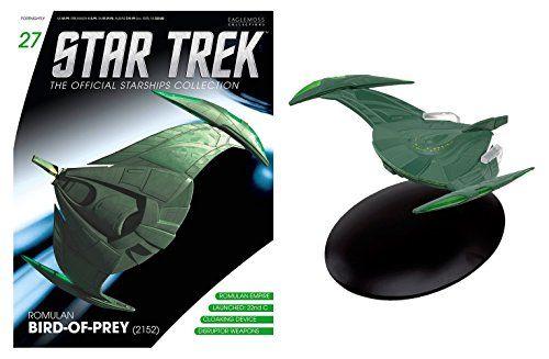 Eaglemoss Star Trek Klingon Bird of Prey and Magazine @ niftywarehouse.com #NiftyWarehouse #StarTrek #Trekkie #Geek #Nerd #Products