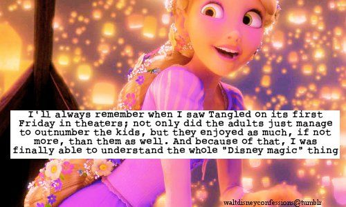 """Ill Always Remember When I Saw Tangled On Its First ..."