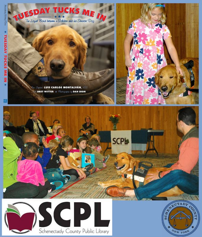 """It was a terrific """"Tuesday Tucks Me In"""" Time at Schenectady County Public Library! — with Tuesday in Schenectady, New York."""