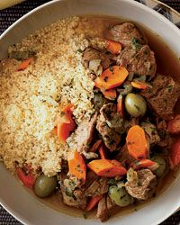 Lamb Tagine with Green Olives and Lemon Recipe on Food & Wine