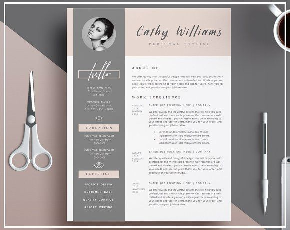 1074 best ? - Design - Resumes images on Pinterest Resume design - resumes